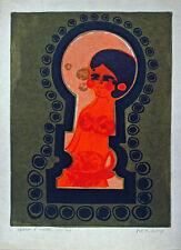 Frédéric MENGUY (1927-2007) lithographie originale 65 x 48 cm sur japon