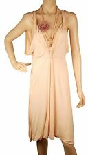 ConMiGo D440 Light Pink Stretch Jersey Dress - S/M Size