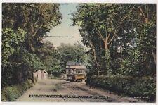 Wheatsheaf Corner West North Down Road Cliftonville Kent JWS Tram Postcard, B668