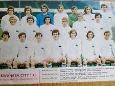 Swansea City 1971/72 team picture