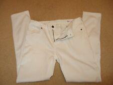 Bnwt Homme Pretty Green Castlefield Skinny Jeans en pierre blanche taille 36 L