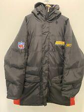 Authentic NFL Washington Redskins Reebok Down Winter Coat Jacket Size 3XL