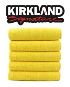 Kirkland Signature 40cm Ultra Plush Microfibre Towels/Soft Cloth - x5