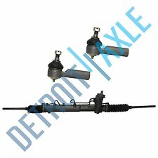 Power Steering Rack and Pinion + 2 Outer Tie Rod End for Escape Tribute Mariner