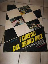 I DIAVOLI DEL GRAND PRIX,RACING RACE,AUTO,CAR,POSTER