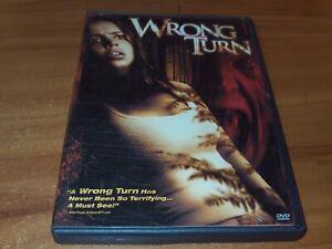 Wrong Turn 1 (DVD, 2003 Widescreen/Full Frame)