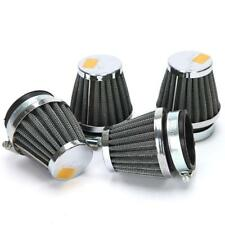 60mm Motorcycle Scooter Engine Inlet Air Filter Intake Cleaner Pit 4pcs Set