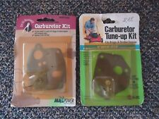 """Lot Of 2 """" NOS """" Carburetor Kits For Briggs & Stratton Engines """" GREAT LOT """""""