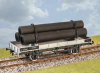 Parkside Models PS20 LNER / LMS / BR Double Bolster Wagon Kit O Gauge