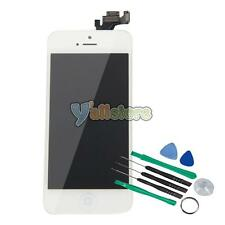 White LCD Screen Digitizer Assembly w/Home Button for Apple iPhone 5 A1428/A1429