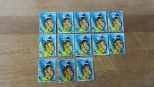 Postage stamps 13 pieces from the cycle of butterflies FOR savvy collectors USED