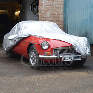 MGB Roadster & MGC Roadster Breathable Car Cover, Models from 1962 to 1980
