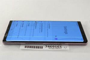 Samsung Galaxy Note9 SM-N960U1 512GB Purple Unlocked ATT TMobile Verizon 7469161