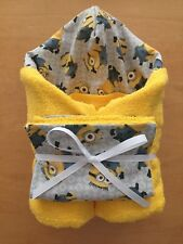 Minions Despicable Me Hooded Towel & Wash Cloth