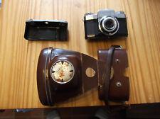ZIESS IKON CONTAFLEX 35MM CAMERA PANTAR 1:2.8/45mm PRONTOR REFLEX FREE SHIPPING
