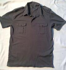 FC7 2 Mens Medium Olive Green/ Collared/ Pocket T-SHIRT TEE 100% COTTON $44 MSRP