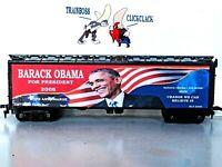 HO CUSTOM LETTERED BARACK OBAMA FOR PRESIDENT 2008 COLLECTIBLE REEFER LOT A