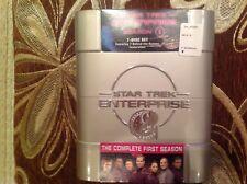Star Trek: Enterprise - The Complete First Season (DVD, 2005, 7-Disc Set,...