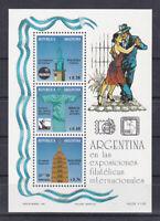 Argentina 1993 souvenir sheet s/s set ** MNH dance tango
