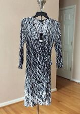 BCBG  Adele WRAP DRESS SIZE M