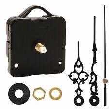 Black Replacement Wall Clock Quartz Movement Mechanism Hands Repair Parts DIY-US