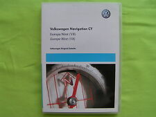 DVD NAVIGATION CY EUROPA WEST 2011 V8 VW RNS 510 810 PASSAT CADDY EOS SEAT SKODA