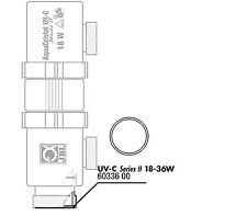 JBL O-Ring zylindrisch für UV-C 18/36 W Ersatzteil