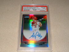 STEPHEN PISCOTTY SIGNED, AUTO 2013 BOWMAN CHR REFRACTOR /500 ROOKIE CARD PSA 9