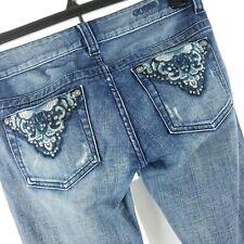 Guess Women Jeans Size 27 Daredevil Skinny Leg Bling Pockets