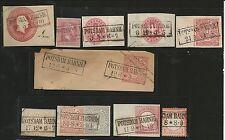 Preussen V. / POTSDAM BAHNH:, 10 feinst-Kabinett-Stücke, dabei je Ra2 auf GAA Pr