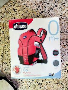 Marsupio Chicco GO Baby Carrier per bambini e neonati da 3,5 a 9 Kg Colore Rosso