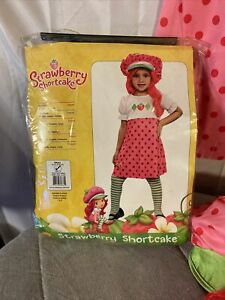 Strawberry Shortcake 2010 Costume Girls Small Rubies