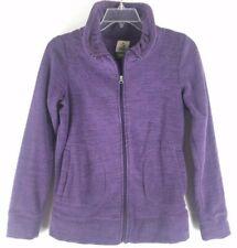 Alpine Design Women's Purple Polar Fleece Zip Sweater Jacket (Size Medium)