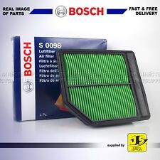 BOSCH AIR FILTER FOR HONDA CIVIC VII VIII FR-V 1.8 S0098 GENUINE OE QUALITY