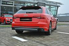 CUP Diffusor Ansatz CARBON Audi S4 A4 S Line B9 AVANT Heck Stoßstange mittig
