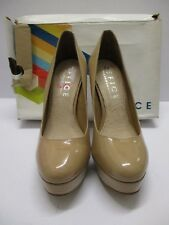 OFFICE Nude Patent Minted Court High Heel Shoes Size 40/7 NEW IN BOX