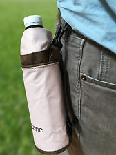 Insulated Water Bottle Holder With Belt Clip