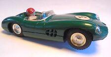 Aston martin DBR1 MM/C57 tri-ang scalextric le mans roy salvadori (endommagé)