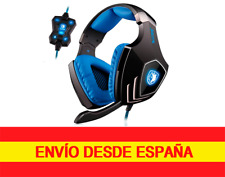 SADES Auriculares A60 7.1  USB PC Gamer  con Sonido Envolvente Micrófono