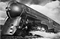 New York Central photo Steam Bullet Locomotive J3A  5453 Hudson  NYC Railroad