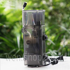 Quiet Aquarium Marine Fish Coral Reef Tank Internal Hanging Protein Skimmer Pump