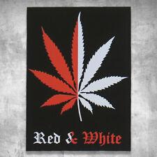 Support 81 Sticker Aufkleber Red & White Weed Hanf Big Red Machine HAMC NorthEnd