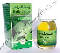 Huile d'Ortie 100% Pure & Naturelle 30ml Nettle Oil, Aceite de Ortiga