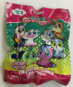 Amazing Squishee Friends Collection Mystery Blind Bag Series 2