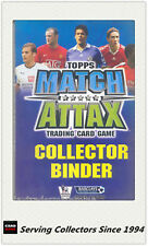 Topps Match Attax Card Game Official Album (2009-2016)-8 Albums-Value