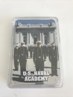 U.S. Naval Academy Deck Of Playing Cards With Case Militaria Collectible