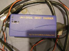 universal smart charger Ni-Mh Ni-Cd NiMh NiCd battery charger 7.2V to 12V
