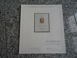 USA Nr. 1 Nachdruck / Sonderdruck / Faksimile der ersten Briefmarke