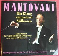 Mantovani / Ein Klang verzaubert Millionen LP Vinyl Klappcover