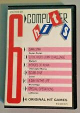 Zx Spectrum 48K 6 Computer Hits - 6 Original Games - As seen on TV